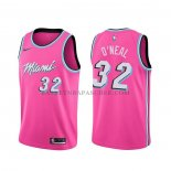 Maillot Miami Heat Shaquille O'neal Earned Rosa