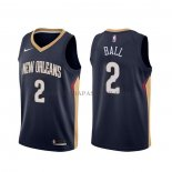 Maillot New Orleans Pelicans Lonzo Ball Icon Bleu