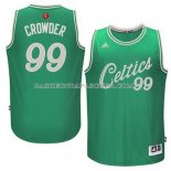 Maillot Noel Boston Celtics Crowder 2015 Vert