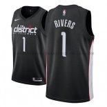 Maillot Washington Wizards Austin Rivers Ciudad 2018-19 Noir
