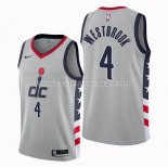 Maillot Washington Wizards Russell Westbrook Ville 2020-21 Gris