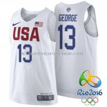 Maillot Authentique USA 2016 George Blanc