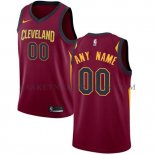 Maillot Cleveland Cavaliers Personnalise 2017-18 Rouge