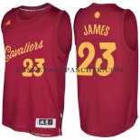Maillot Authentique Noel Cleveland Cavaliers James 2016-17 Rouge