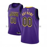 Maillot Los Angeles Lakers Personnalise Ville 2018-19 Volet