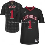 Maillot Noches Enebea Chicago Bulls Rose