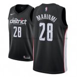 Maillot Washington Wizards Ian Mahinmi Ciudad 2018-19 Noir