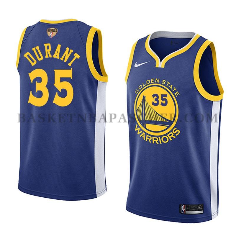 961950c6592cd Maillot de basket nba Golden State Warriors Kevin Durant Finals ...